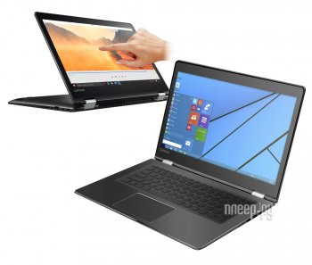 Ноутбук Lenovo IdeaPad Yoga 510-14ISK 80S7004URK (Intel Core i5-6200U 2.3 GHz/8192Mb/1000Gb/No ODD/Intel HD Graphics/Wi-Fi/Bluetooth/Cam/14.0/1920x108