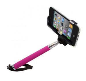 Монопод для селфи MONOPOD Z07-5 Bluetooth Pink for Selfie