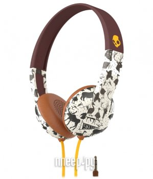 Наушники с микрофоном Skullcandy Uproar Explore Animal Mustard S5URHT-452