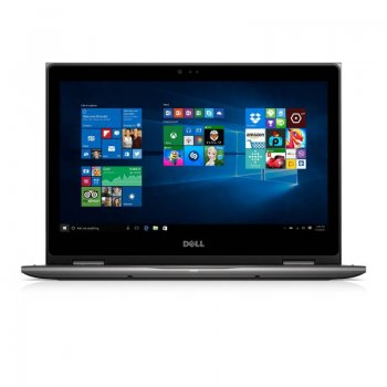 "Ноутбук Dell Inspiron 5368 Core i3 6100U/4Gb/500Gb/Intel HD Graphics 520/13.3""/IPS/Touch/Windows 10/black/WiFi/BT/Cam"