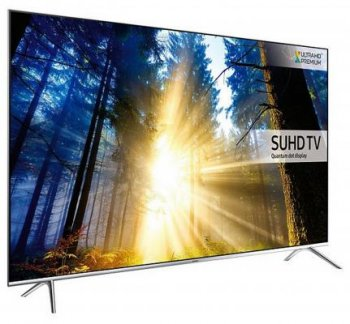 "Телевизор-LCD 60"" Samsung UE60KS7000UXRU серебристый/Ultra HD/200Hz/DVB-T2/DVB-C/DVB-S2/USB/WiFi/Smart (RUS)"