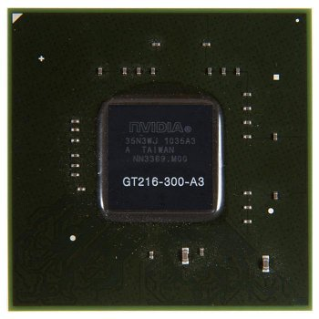Видеочип GT216-300-A3 nVidia GeForce GT210, новый