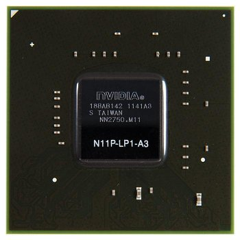 Видеочип N11P-LP1-A3 nVidia GeForce G330M, новый