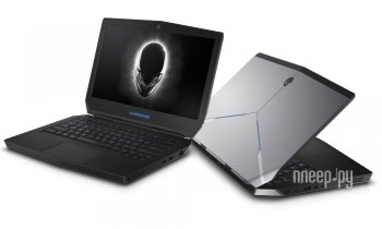 Ноутбук Dell Alienware 13 A13-4330 (Intel Core i5-4210U 1.7 GHz/16384Mb/256Gb SSD/No ODD/nVidia GeForce GTX 860M 2048Mb/Wi-Fi/Cam/13.3/1920x1080/Windo