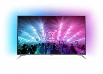 "Телевизор-LCD 55"" Philips 55PUS7101/60 темный металлик/Ultra HD/2000Hz/DVB-T/DVB-T2/DVB-C/DVB-S/DVB-S2/3D/USB/WiFi/Smart (RUS)"