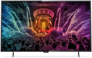 "Телевизор-LCD Philips 49"" 49PUT6101/60 черный/Ultra HD/800Hz/DVB-T/DVB-T2/DVB-C/USB/WiFi/Smart (RUS)"