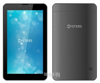 Планшетный компьютер Oysters T74N Black (MediaTek MTK8321 1.3 GHz/1024Mb/8Gb/3G/Wi-Fi/Bluetooth/Cam/7.0/1024x600/Android)
