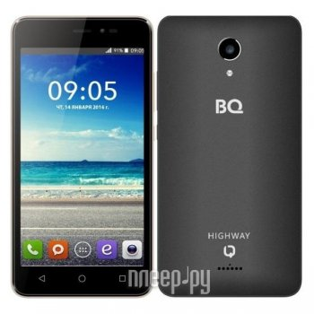 Смартфон BQ BQS-5025 HighWay Black