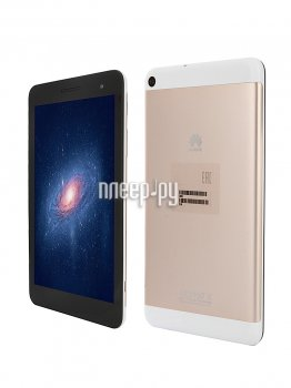 Планшетный компьютер Huawei MediaPad T1 7.0 16Gb 3G T1-701U Black-Golden (Spreadtrum SC7731G 1.2 GHz/1024Mb/16Gb/Wi-Fi/3G/Bluetooth/GPS/7.0/1024x600/A