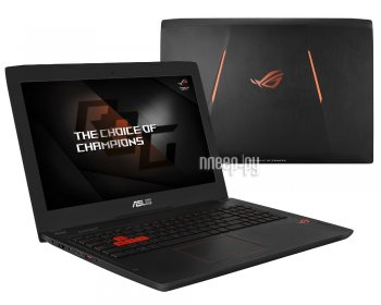 Ноутбук Asus ROG GL502VT-FY145T 90NB0AP1-M02090 (Intel Core i7-6700HQ 2.6 GHz/12Gb/1000Gb + 128Gb SSD/No ODD/nVidia GeForce GTX 970M 3Gb/Wi-Fi/C