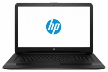 "Ноутбук hp 17-x004ur Pentium N3710/4Gb/500Gb/DVD-RW/Intel HD Graphics/17.3""/HD+ (1600x900)/Free DOS/black/WiFi/Cam/2550mAh"