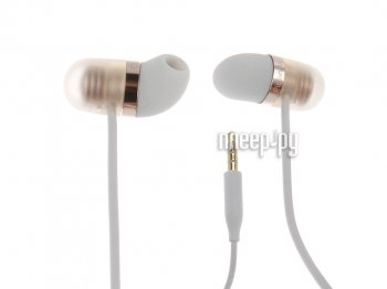 Наушники с микрофоном Xiaomi Piston Air Capsule Earphone White-Gold