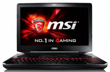 "Ноутбук MSI GT80S 6QD Titan SLI Core i7 6820HK/16Gb/1Tb/SSD256Gb/Blu-Ray/nVidia GeForce GTX 980 6Gb/18.4""/FHD (1920x1080)/Windows 10/black/WiFi/BT/Cam"