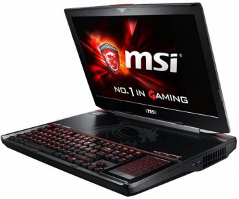 "Ноутбук MSI GT80S 6QD Titan SLI Core i7 6820HK/16Gb/1Tb/SSD128Gb/Blu-Ray/nVidia GeForce GTX 980 6Gb/18.4""/FHD (1920x1080)/Windows 10/black/WiFi/BT/Cam"