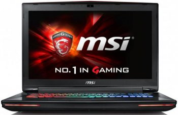 "Ноутбук MSI GT72VR 6RE Dominator Core i7 6700HQ/16Gb/1Tb/SSD128Gb/DVD-RW/nVidia GeForce GTX 970M/17.3""/FHD (1920x1080)/Windows 10/black/WiFi/BT/Cam"