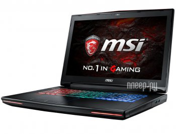 "Ноутбук MSI GT72VR 6RD Dominator Core i7 6700HQ/16Gb/1Tb/SSD256Gb/DVD-RW/nVidia GeForce GTX 980M/17.3""/FHD (1920x1080)/Windows 10/black/WiFi/BT/Cam"