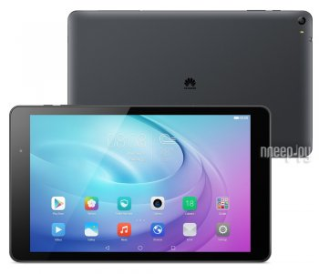 Планшетный компьютер Huawei MediaPad T2 Pro LTE 16Gb 10 FDR-A01L Carbon Black (Qualcomm Snapdragon 615 MSM8939 1.5 Ghz/2048MB/16Gb/LTE/Wi-Fi/Bluetooth