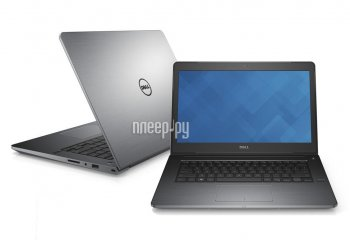 Ноутбук Dell Vostro 5459 5459-8552 (Intel Core i3-6100U 2.3 GHz/4096Mb/500Gb/No ODD/Intel HD Graphics/Wi-Fi/Bluetooth/Cam/14.0/1366x768/Windows 10 64-