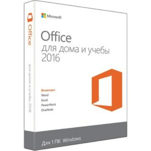 Программное обеспечение: Microsoft Office Home and Student 2016 No Skype Rus Only Medialess (79G-04713)