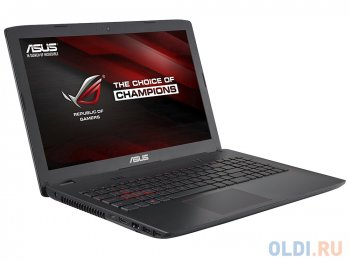 "Ноутбук Asus GL552Vx i7-6700HQ (2.6)/8Gb/2Tb/15,6""FHD AG/NV GTX950M 2Gb DDR5/DVD-SM/BT/Win10 GRAY, METAL"