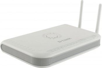 *Маршрутизатор D-Link <DVG-N5402GF> VoIP Wireless Router (4UTP 10/100/1000Mbps, 1WAN/SFP, 2xFXS, USB, 300Mbps) (б/у)