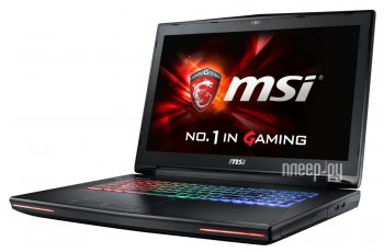 Ноутбук MSI GT72S 6QE-1039XRU 9S7-178211-1039 (Intel Core i7-6700HQ 2.6 GHz/16384Mb/1000Gb/DVD-RW/nVidia GeForce GTX 980M 4096Mb/Wi-Fi/Bluetooth/Cam/1