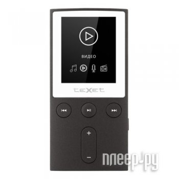 Плеер MP3 teXet T-70 8Gb Grey