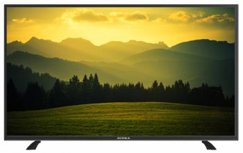 "Телевизор-LCD Supra 55"" S-LC55T560FL черный/FULL HD/50Hz/DVB-T2/DVB-C/USB (RUS)"