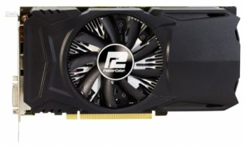 Видеокарта PowerColor PCI-E AXRX 460 2GBD5-DH/OC AMD Radeon RX 460 2048Мб 128bit GDDR5 1212/1750 DVIx1/HDMIx1/DPx1/HDCP Ret