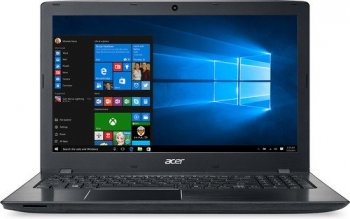 "Ноутбук Acer Aspire E5-575G-52QB Core i5 6200U/6Gb/1Tb/nVidia GeForce GTX 950M 2Gb/15.6""/FHD/Windows 10/black/WiFi/BT/Cam"