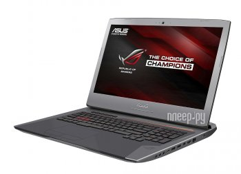 Ноутбук Asus ROG G752VS-GC082T 90NB0D71-M00950 (Intel Core i7-6820HK 2.7 GHz/32768Mb/1000Gb + 256Gb SSD/BD/nVidia GeForce GTX 1070M 8192Mb/Wi-Fi/Cam/1