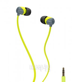 Наушники Skullcandy Jib Lime Grey S2DUFZ-385