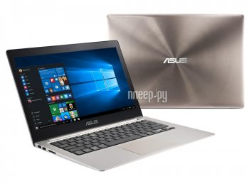 Ноутбук Asus Zenbook UX303UA-R4259T 90NB08V1-M04150 (Intel Core i3-6100U 2.3 GHz/4096Mb/500Gb/No ODD/Intel HD Graphics/Wi-Fi/Cam/13.3/1366x768/Windows