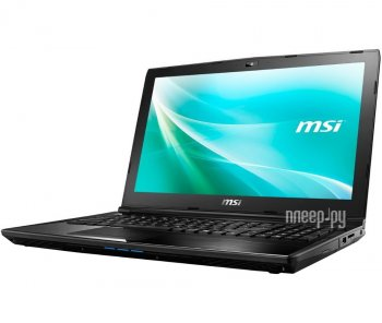 "Ноутбук MSI CX62 6QD Core i3 6100U/8Gb/750Gb/DVD-RW/nVidia GeForce 940MX 2Gb/15.6""/TN/HD (1366x768)/Windows 10 +AV/black/WiFi/BT/Cam"
