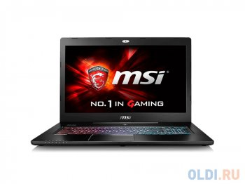 "Ноутбук MSI GS72 6QE Stealth Pro Core i7 6700HQ/16Gb/1Tb/SSD256Gb/nVidia GeForce GTX 970M 3Gb/17.3""/IPS/FHD (1920x1080)/Windows 10 64/black/WiFi/BT/Ca"