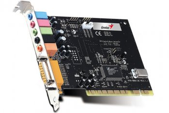 *Звуковая карта PCI Genius SoundMaker Value 5.1 <CMI 8738 PCI-6ch-LX> Output up to 6 speakers (б/у)