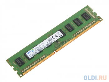 Оперативная память 2Gb 1600MHz Samsung M378B5773SB0 OEM PC3-12800 CL11 DIMM 240-pin 1.5В