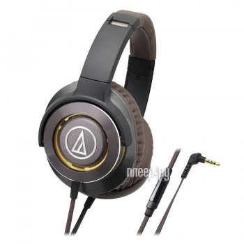 Наушники Audio-Technica ATH-WS770iS Gun Metal