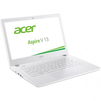 "Ноутбук Acer Aspire V3-372-539F Core i5 6200U/6Gb/500Gb/Intel HD Graphics/13.3""/IPS/FHD (1920x1080)/Windows 10/white/WiFi/BT/Cam/3220mAh"
