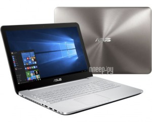 Ноутбук Asus N552VX-XO279T 90NB09P1-M03160 (Intel Core i5-6300HQ 2.3 GHz/4096Mb/1000Gb/DVD-RW/nVidia GeForce GTX 950M 2048Mb/Wi-Fi/Bluetooth/Cam/15.6/