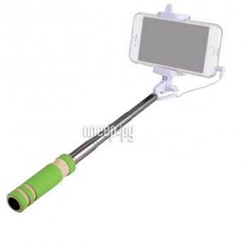 Монопод для селфи MONOPOD Cable Mini Green 51134
