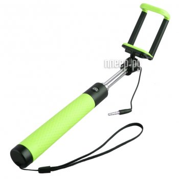 Монопод для селфи MONOPOD Cable D12s Green 52029
