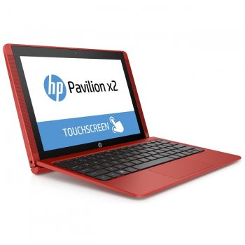 Ноутбук hp Pavilion x2 10-n106ur Red V0Y95EA (Intel Atom x5-Z8300 1.44 GHz/2048Mb/32Gb SSD/No ODD/Intel HD Graphics/Wi-Fi/Cam/10.1/1280x800/Windows 10