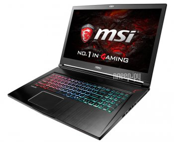 Ноутбук MSI GS73VR 6RF-037RU 9S7-17B112-037 Black (Intel Core i7-6700HQ 2.6 GHz/16384Mb/2000Gb + 128Gb SSD/No ODD/nVidia GeForce GTX 1060 6144Mb/Wi-Fi