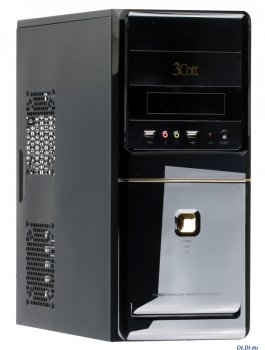 Системный блок (ATX/Intel Pentium G3260 3.3Ghz/RAM 4GB/HDD 500GB/DVD-RW/Win 10) (356225)