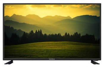 "Телевизор-LCD Supra 43"" S-LC43T560FL черный/FULL HD/50Hz/DVB-T2/DVB-C/USB (RUS)"