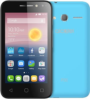 Смартфон Alcatel OneTouch 4034D PIXI 4 Sharp Blue