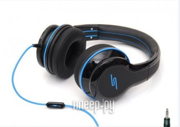 Наушники с микрофоном SMS Audio Street by 50 Wired Over-Ear Black SMS-WD-BLK