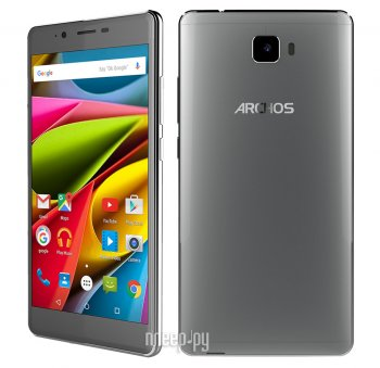 Смартфон Archos 55 Cobalt Plus Dark Grey