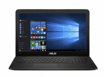 "Ноутбук Asus X555SJ-XO007T Celeron N3050/4Gb/500Gb/nVidia GeForce 920M 1Gb/15.6""/HD (1366x768)/Windows 10 64/black/WiFi/BT/Cam"